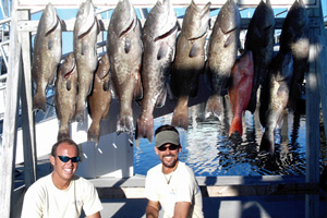 Deep inland freshwater fishing adventures augustine world for Majesty deep sea fishing
